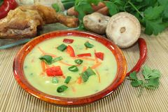 Curry Soup Stock Images