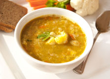 Curry Soup Royalty Free Stock Photography