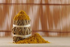 Curry spice Royalty Free Stock Image