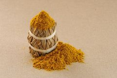 Curry spice Royalty Free Stock Images