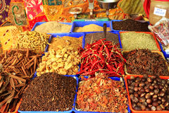 Curry spices at Varkala Royalty Free Stock Image