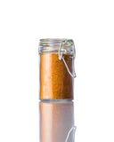 Curry su bianco Fotografie Stock Libere da Diritti