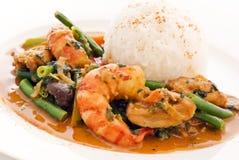 Curry tailandés Imagen de archivo libre de regalías