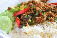 Curry tailandés. Fotos de archivo libres de regalías