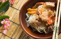 Curry tailandés Fotografía de archivo