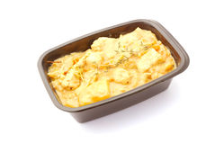 Curry take away food stock images
