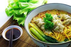 Curry Tom-yam Noodle Royalty Free Stock Image