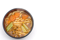 Curry udon noodles Royalty Free Stock Photo