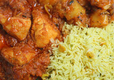 Curry Up Close Royalty Free Stock Photography