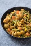 Curry vegetal mezclado imágenes de archivo libres de regalías