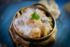 Curry vegetariano immagini stock