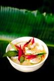 Curry verde fotografie stock libere da diritti
