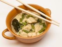 Curry verde con il pollo Immagini Stock Libere da Diritti