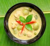 Curry verde del cerdo Fotografía de archivo libre de regalías