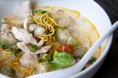 Curry verde delizioso della carne di maiale immagine stock libera da diritti