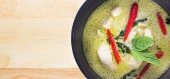 Curry verde tailandés Imagen de archivo libre de regalías