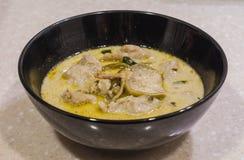 Curry verde tailandese Immagine Stock Libera da Diritti
