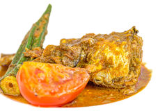 Curry VI de los pescados Foto de archivo libre de regalías