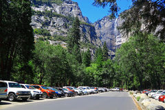 Curry Village at Yosemite Valley Royalty Free Stock Image
