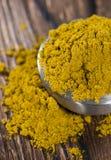 Curry w małym pucharze Obrazy Stock