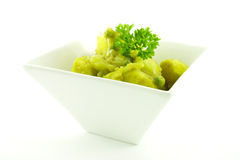 Curry in a White Bowl Stock Image