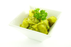 Curry in a White Bowl Royalty Free Stock Photo