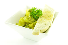 Curry in a White Bowl Royalty Free Stock Photos