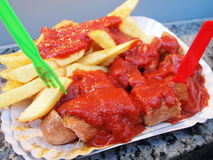 Curry Wurst Berlin Royalty Free Stock Images