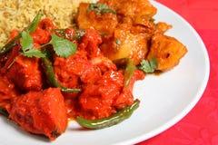 Curry-Zeit Lizenzfreie Stockfotos