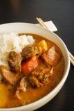 Currych ryż Obrazy Stock