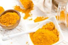 Curryhögar Arkivfoto