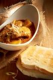 Curryhöna Fotografering för Bildbyråer