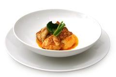 Curryhuhn Stockfoto