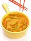curryokra Arkivfoton