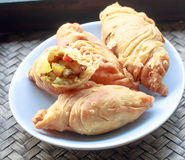Currypuff Royaltyfria Foton