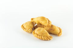 Currypuffs Royaltyfria Bilder