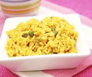 Curryreis lizenzfreie stockfotos