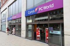 Currys-PC Welt Lizenzfreies Stockfoto