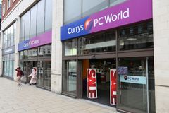 Currys PC World Royalty Free Stock Photo