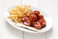 Currywurst, curry sausage Stock Photo