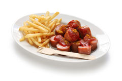 Currywurst, curry sausage Royalty Free Stock Photography