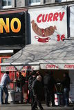 Currywurst snack bar, berlin, germany Stock Photo
