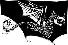Curseur de dragon Image libre de droits