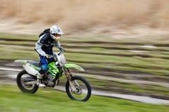 Curseur de motocross images stock