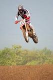 Curseur de motocross Photos libres de droits