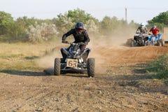 Curseurs sur des vélos de quarte Photo libre de droits
