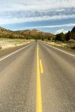 Curso alto dos E.U. da paisagem do deserto da estrada de Ochoco da rota 26 de Oregon Imagens de Stock
