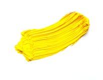 Curso amarelo Fotografia de Stock Royalty Free