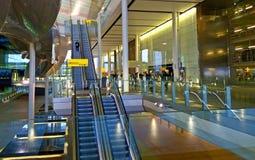 Curso ao aeroporto Imagem de Stock