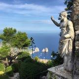 Curso Capri, Itália Fotos de Stock